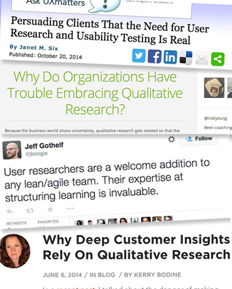 User Research UX design research