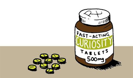 Curiosity-tablets