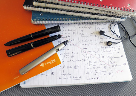 Smartpens are such an essential item in my kit, I've got a few for when a team hits the road.