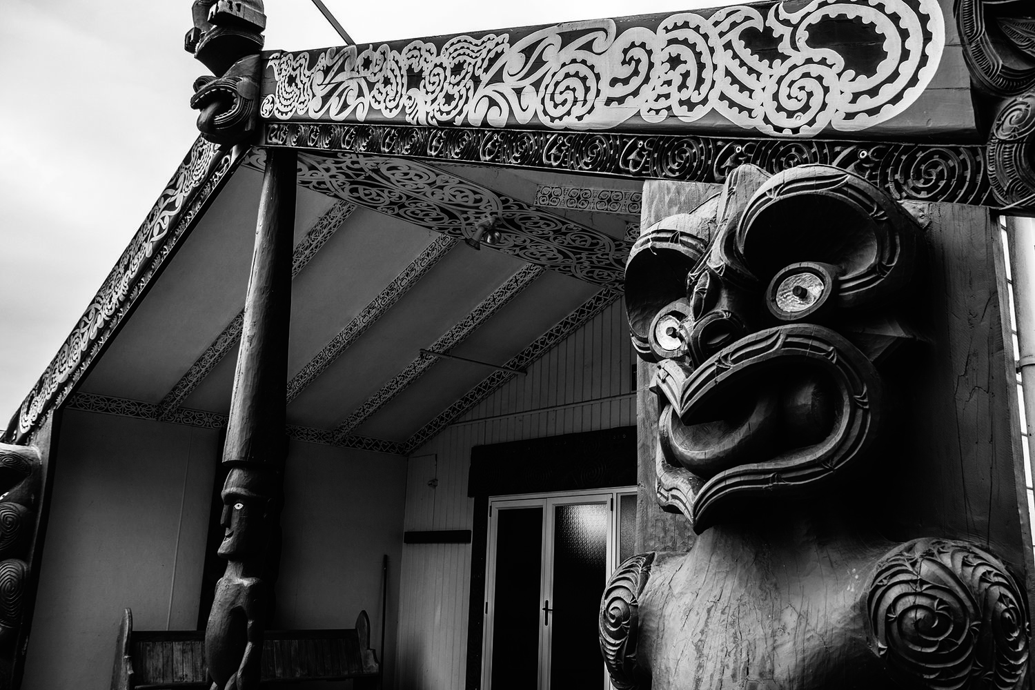 I was humbled, rendered almost speechless by a traditional welcome into this Marae